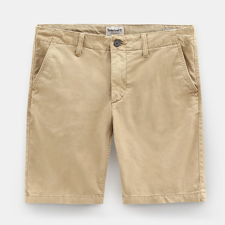 Squam Lake Chino Shorts for Men in Khaki-