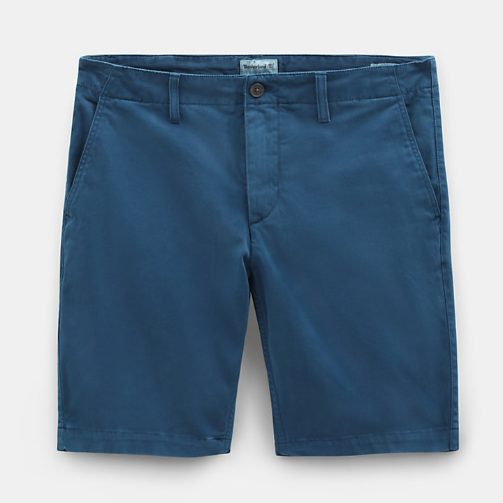 Squam Lake Chino Shorts for Men in Teal-