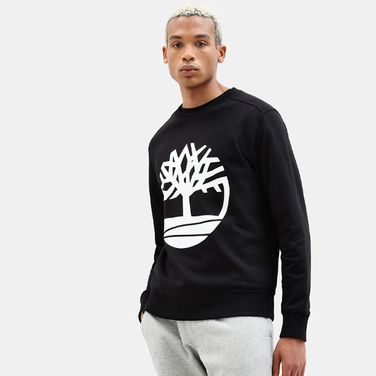 Tree Sweatshirt for Men in Black | Timberland