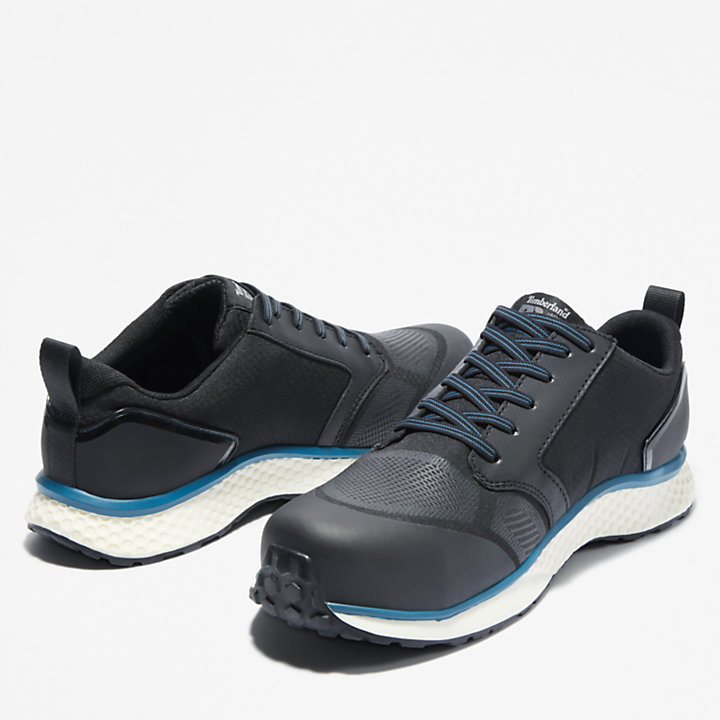 Timberland PRO® Reaxion Work Shoe for Men in Black/Blue-