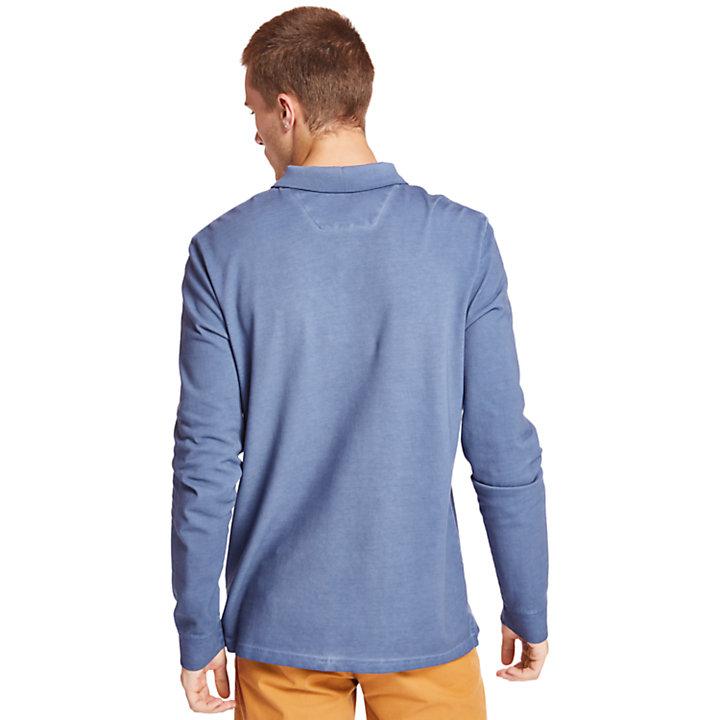 Polo Millers River para Hombre en azul-