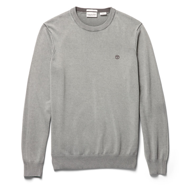 Manhan River Organic Cotton Sweater for Men in Grey-