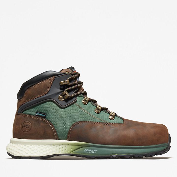 Bottine workwear Timberland PRO® Euro Hiker pour homme en marron-