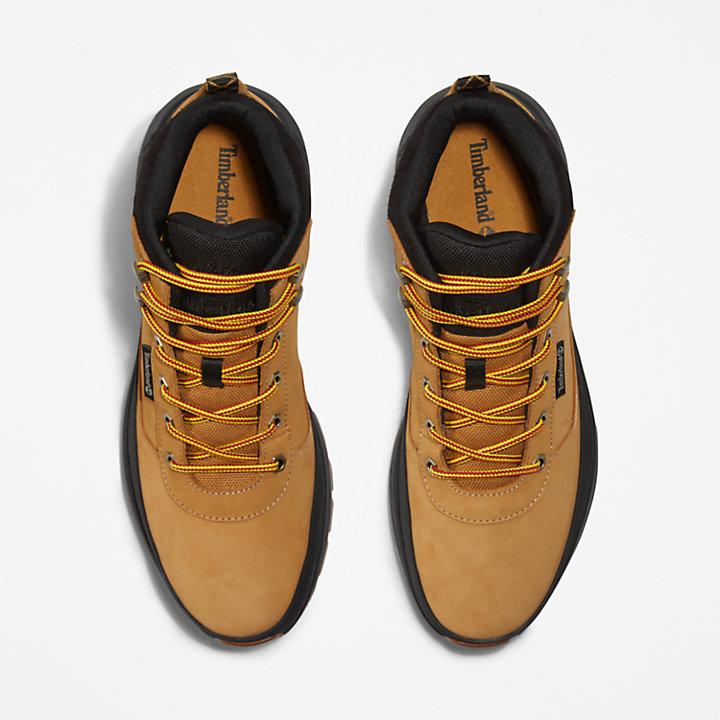 Field Trekker Sneaker for Men in Yellow-