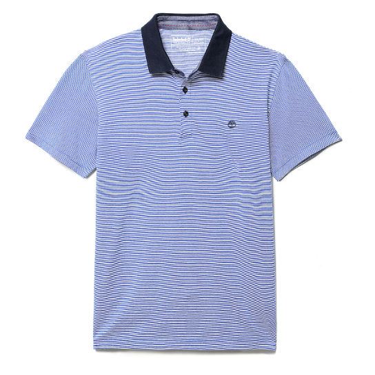 Zealand River Jersey Polo Shirt for Men in Blue | Timberland