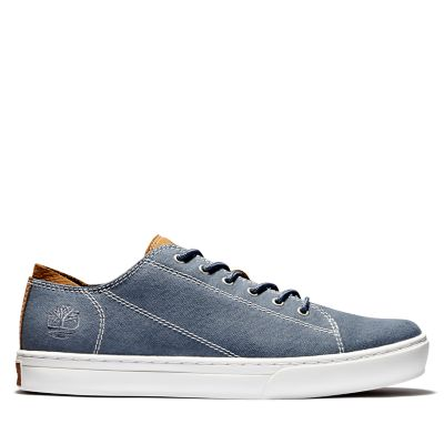 Adventure+2.0+Cupsole+Canvas+Oxford+voor+Heren+in+Blauw