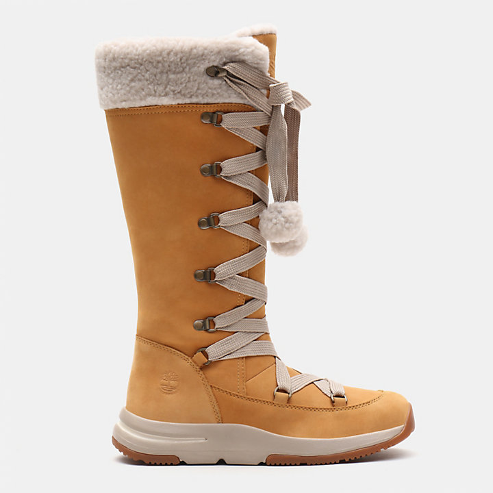 Mabel Town Mukluk Boot for Women in Yellow-