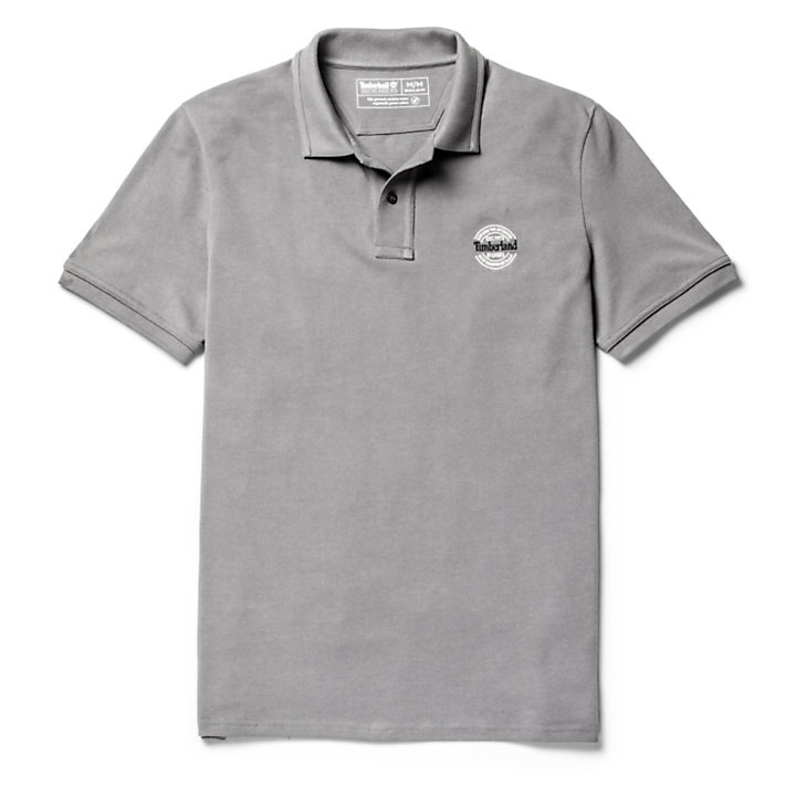 Polo Millers River Graphic homme en gris-