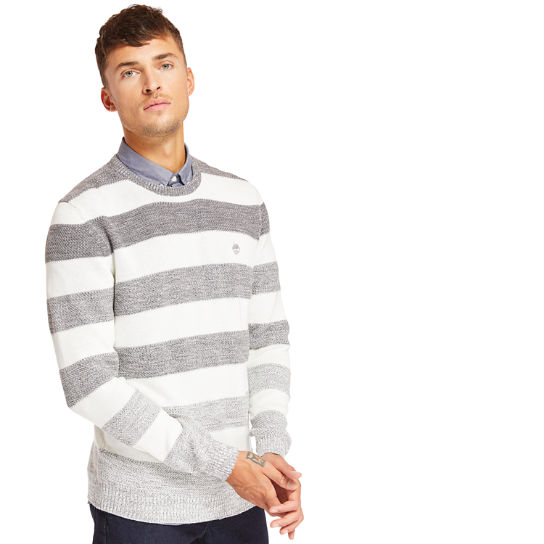 Beebe River Organic Cotton Sweater for Men in Grey | Timberland