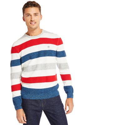 Beebe+River+Organic+Cotton+Sweater+for+Men+in+Blue
