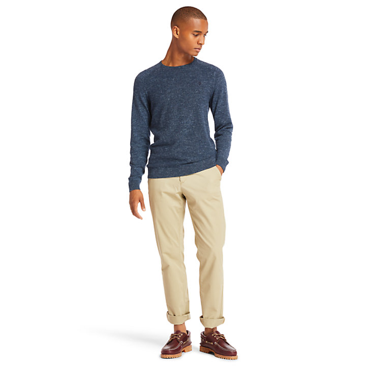 Oliverian Brook Sweater for Men in Navy-