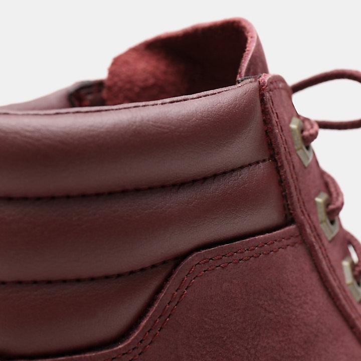 Zapatillas Altas Dausette para Mujer en burdeos-
