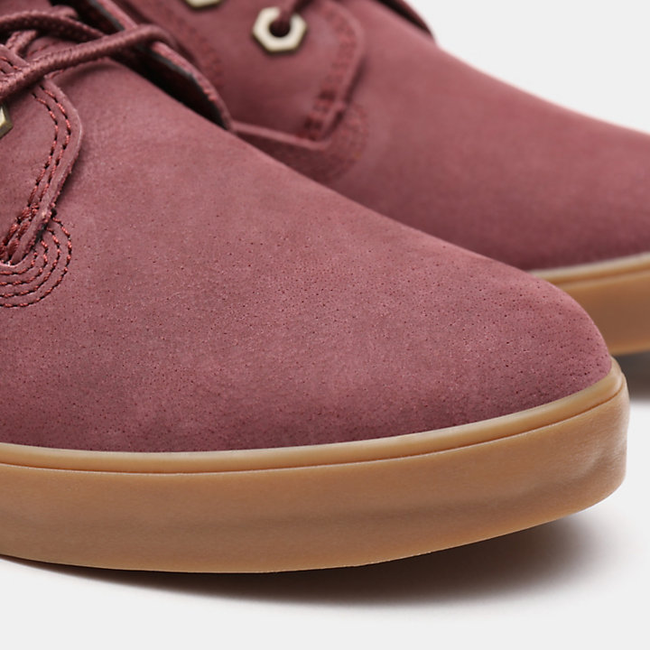 Dausette High Top Sneakers for Women in Burgundy-