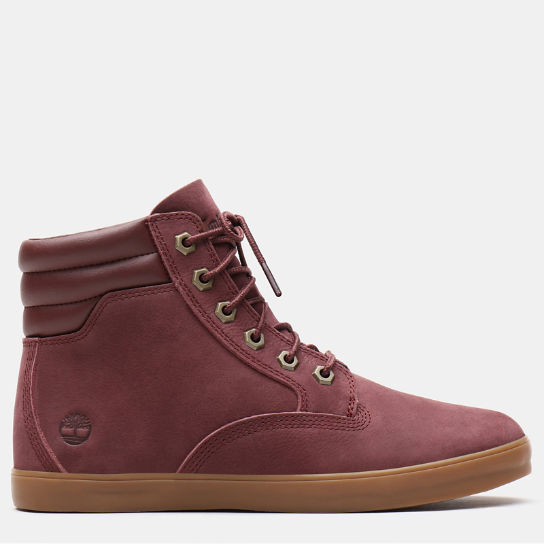 Dausette High Top Sneakers for Women in Burgundy | Timberland