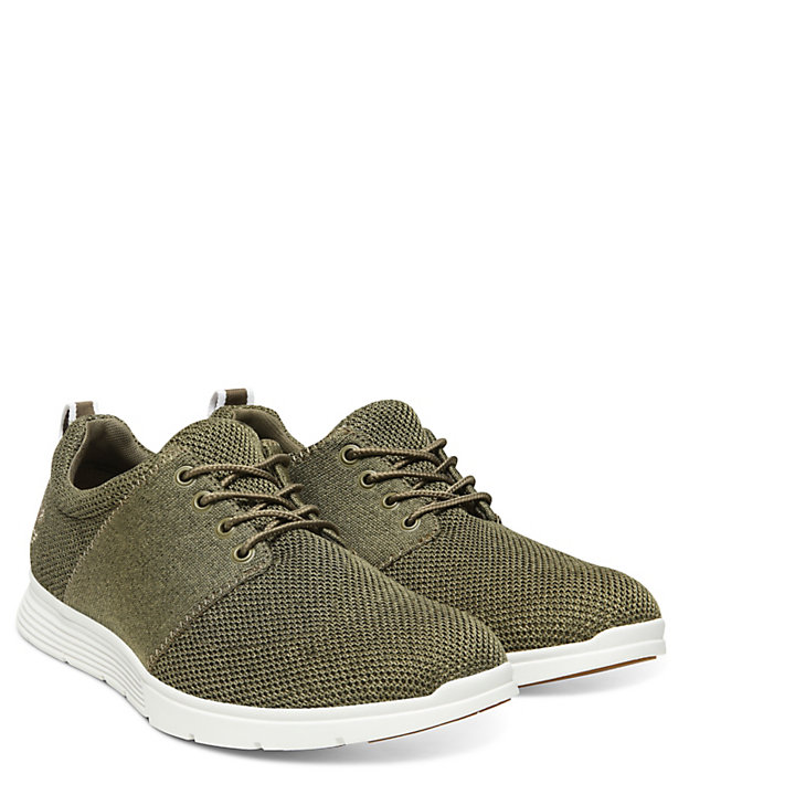 Oxford en Punto Flexible Killington para Hombre en Verde-
