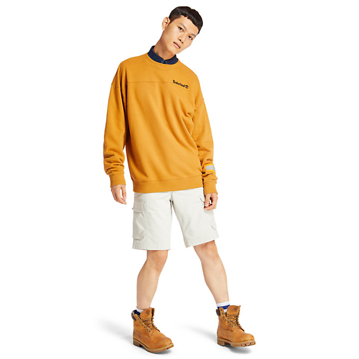 Sweat Hampton Falls River pour homme en jaune-