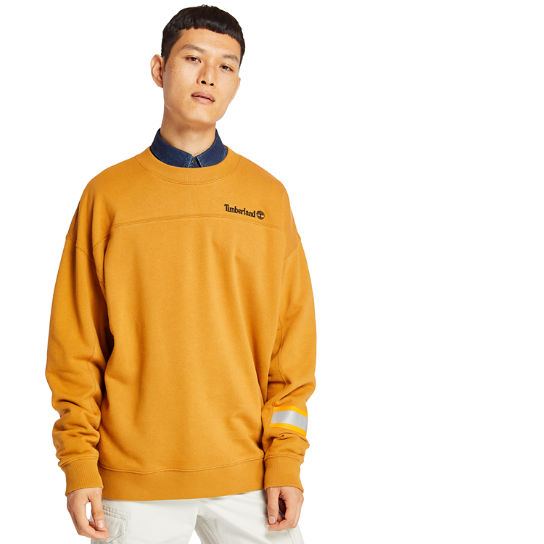 Hampton Falls River Sweatshirt for Men in Yellow | Timberland