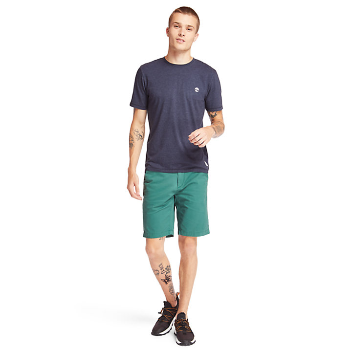 T-shirt Mohawk River pour homme en bleu marine-