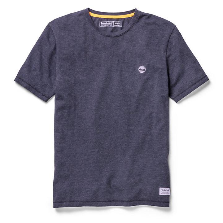 T-shirt da Uomo Mohawk River in blu marino-