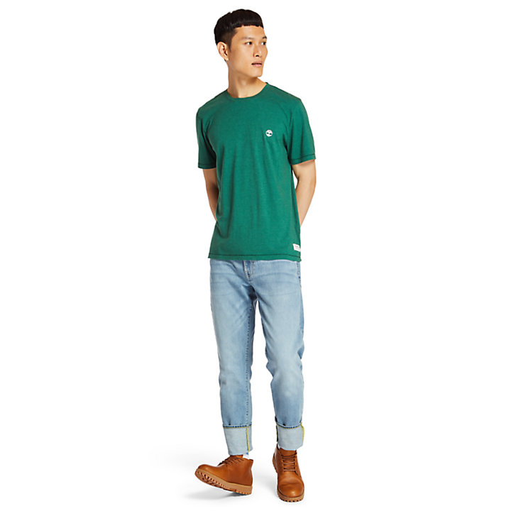 Mohawk River T-Shirt for Men in Green-