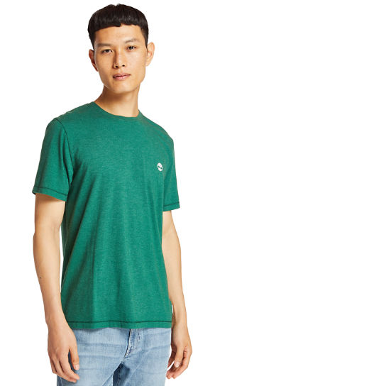 Mohawk River T-Shirt for Men in Green | Timberland