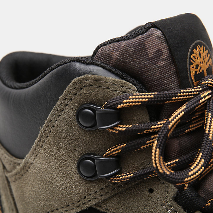 Sneaker Alte da Uomo Ripcord in verde-