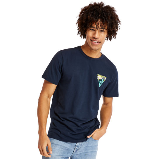Sawyer River Coastal Roamers T-Shirt for Men in Navy | Timberland