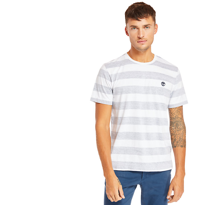 Camiseta Piscataquog River para Hombre en azul marino-