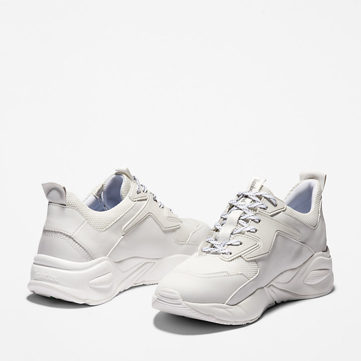 Delphiville Mesh Sneaker for Women in White-