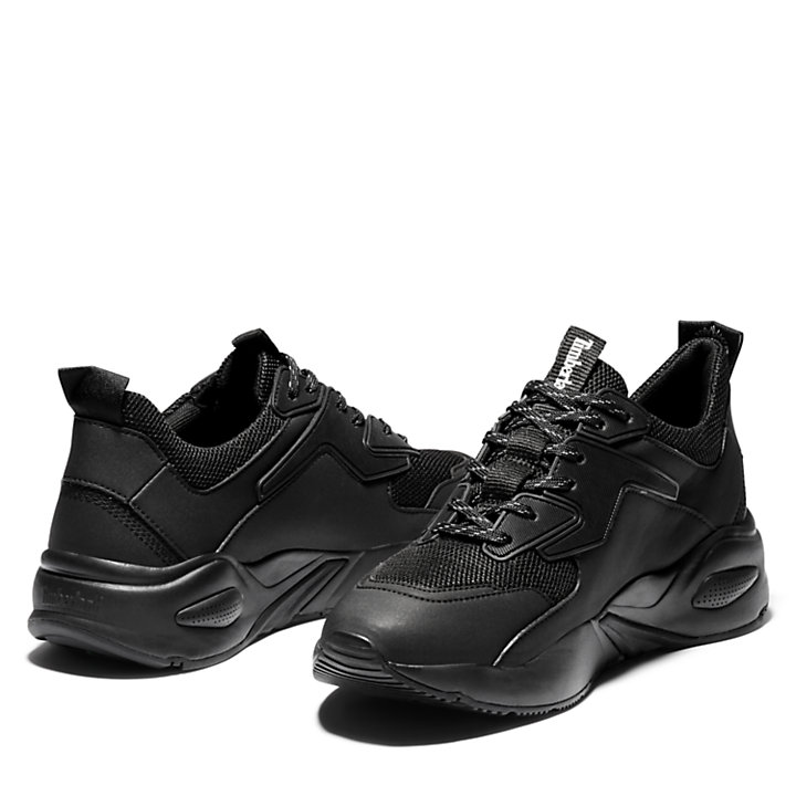 Delphiville Mesh Sneaker for Women in Black-