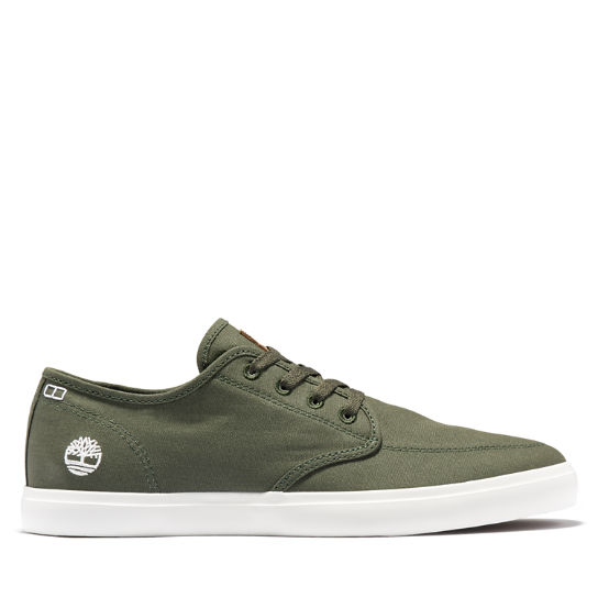 Sneaker da Uomo Union Wharf Derby in verde scuro o marrone | Timberland