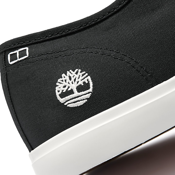 Union Wharf Derby Sneaker voor Heren in zwart-