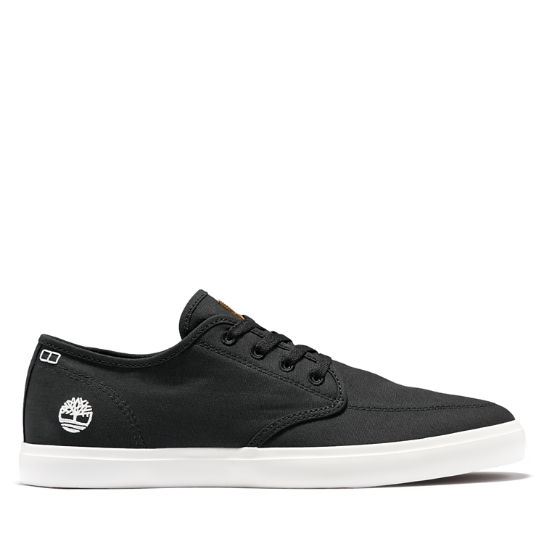 Union Wharf Derby Sneaker for Men in Black | Timberland