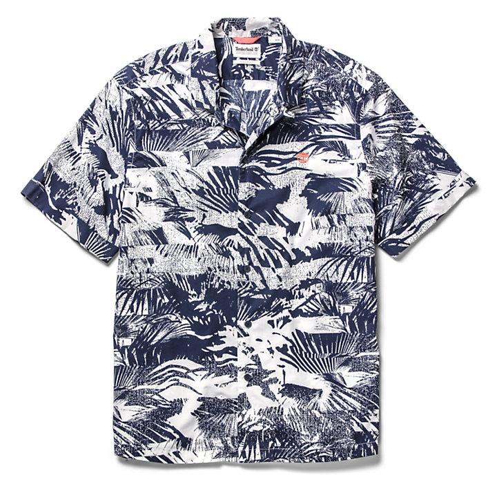 Chemise Eastham River pour homme en bleu marine-
