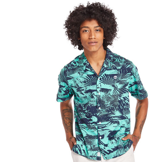 Eastham River Shirt for Men in Green | Timberland