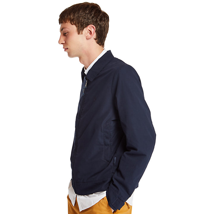 Stratham Harrington Jacket for Men in Navy-