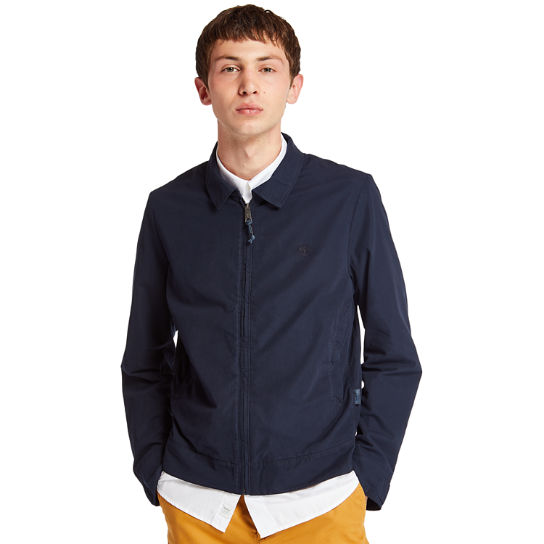 Stratham Harrington Jacket for Men in Navy | Timberland