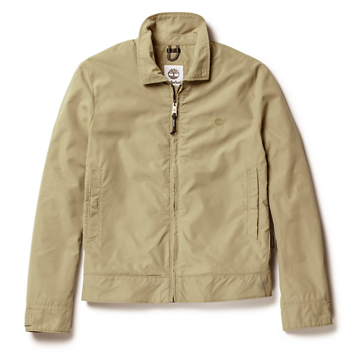 Stratham Harrington Jacket for Men in Beige-