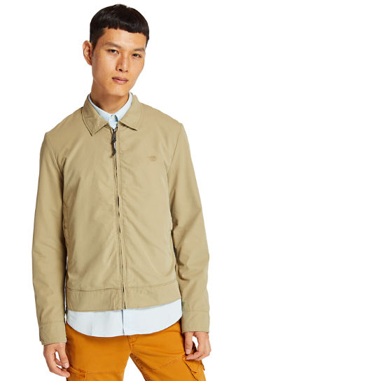 Stratham Harrington Jacket for Men in Beige | Timberland