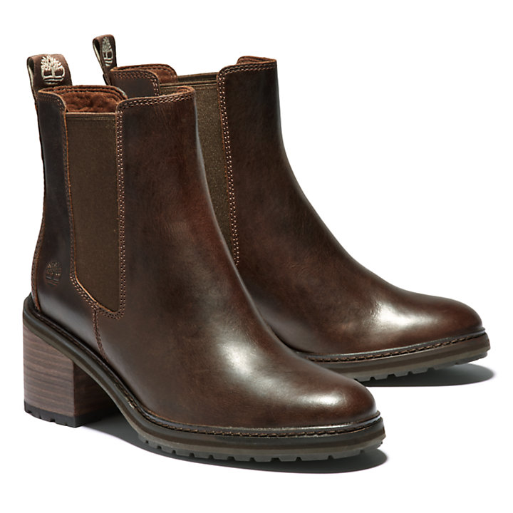 Sienna High Chelsea Boot for Women in Brown-