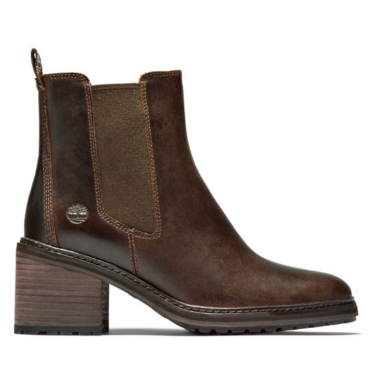 Sienna High Chelsea Boot for Women in Brown | Timberland