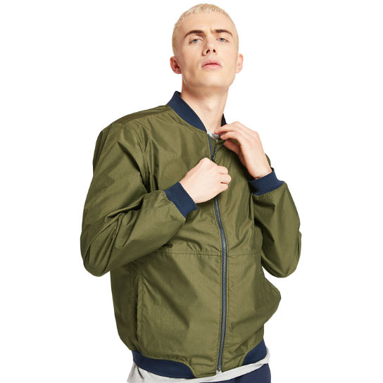 Mount Hight City Bomber for Men in Green | Timberland