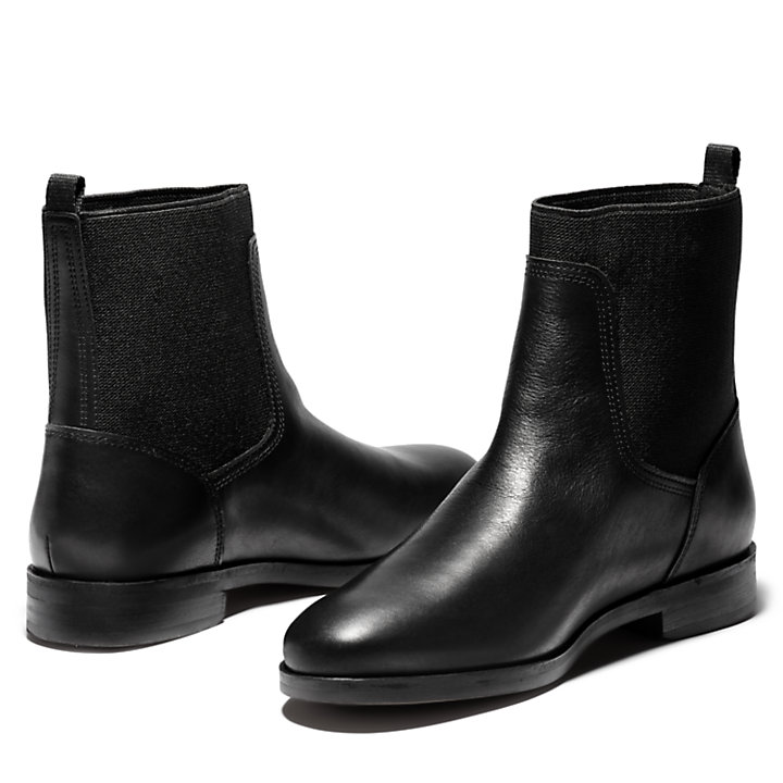 Somers Falls Chelsea Boot for Women in Black-