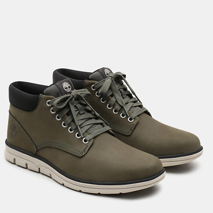 Bradstreet Leather Chukka voor Heren in groen-