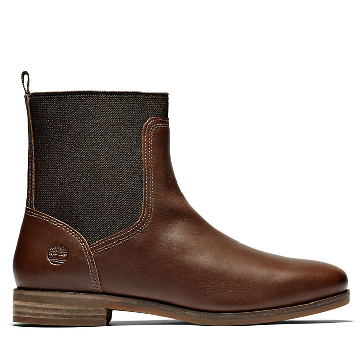 Somers Falls Chelsea Boot for Women in Dark Brown-