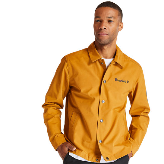 Kidder Mountain Jacket for Men in Yellow | Timberland
