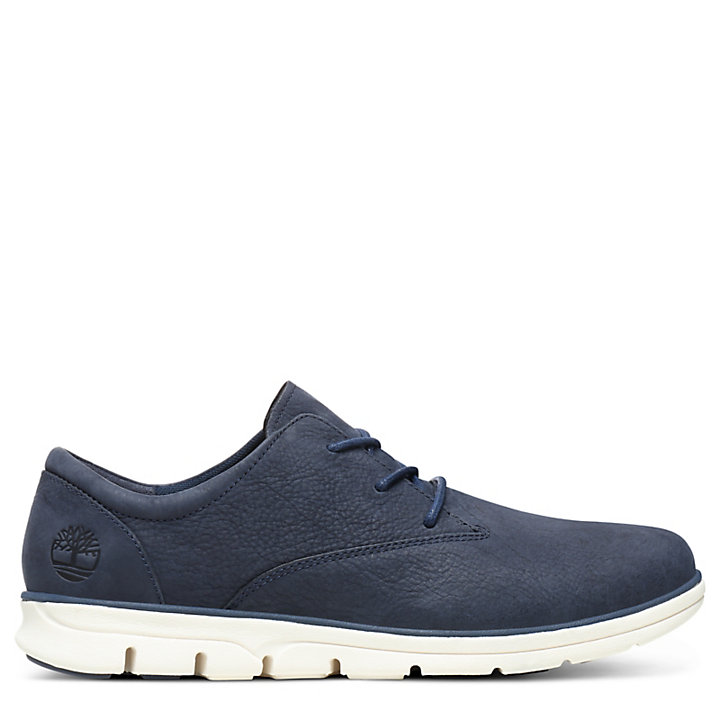 Bradstreet Leather Oxford for Men in Navy-
