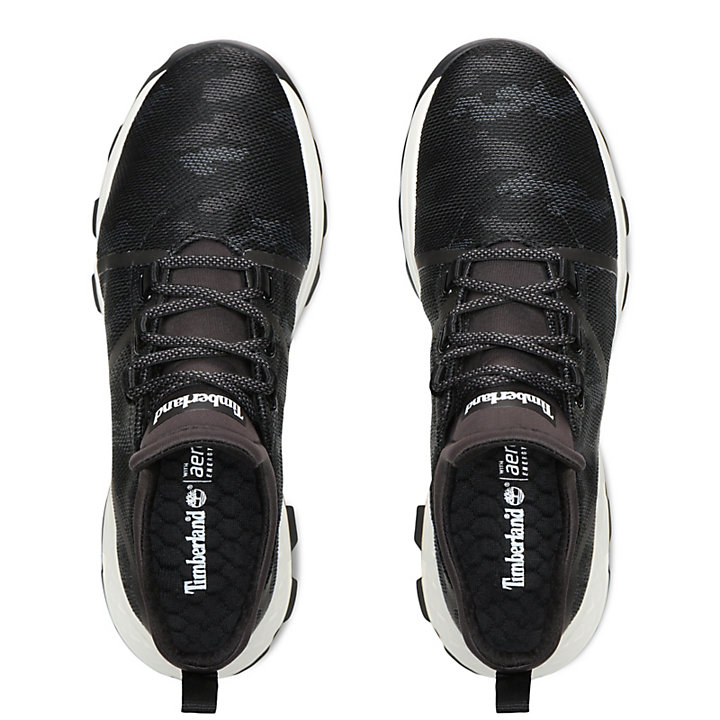 Brooklyn Fabric Sneaker for Men in Black-