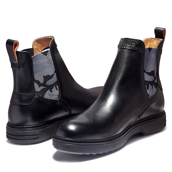 RR 4610 Chelsea Boot for Men in Black-
