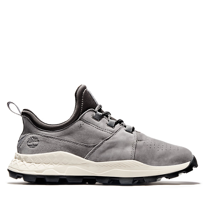 Oxford da Uomo Brooklyn Lace in grigio-